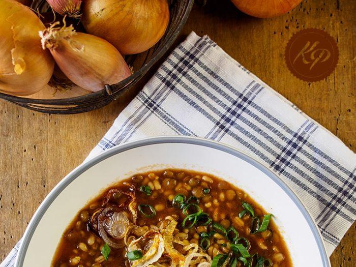 Zupa Z Soczewica I Cebula Kinga Paruzel