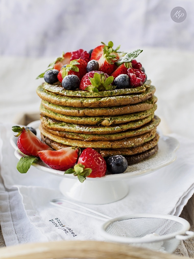 Pancakes Szpinakowo Proteinowe