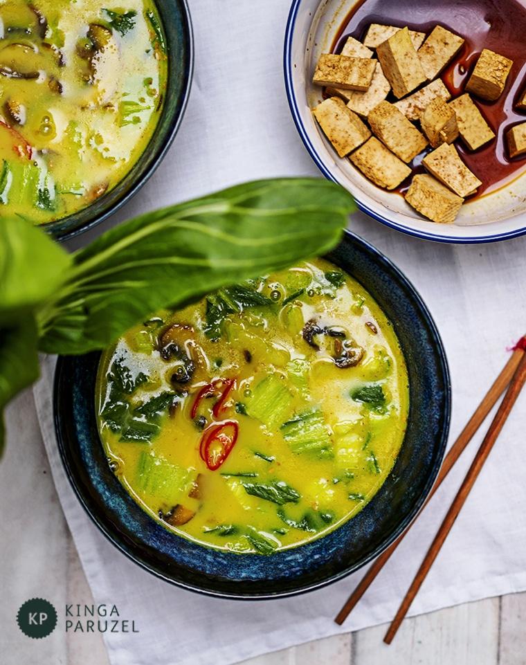 Orientalna Zupa Z Kurkumą